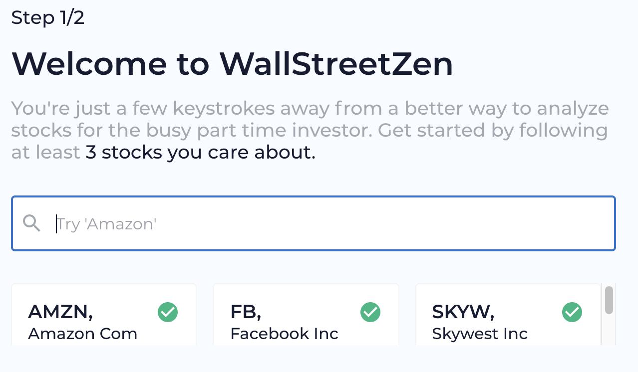 WallStreetZen Example
